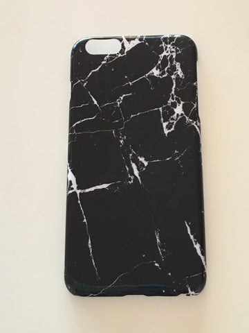 Marble Black iPhone 6s Plus Case