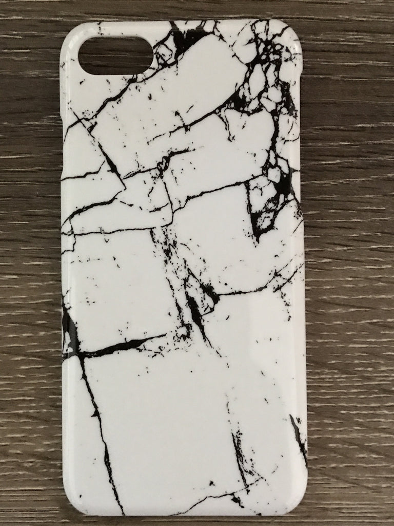 iPhone 7 Case Marble - White - Willow Rose Boutique