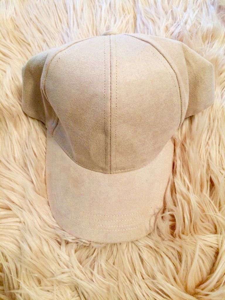 Light Pink Cap - Willow Rose Boutique