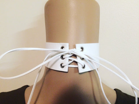 White Choker - Willow Rose Boutique