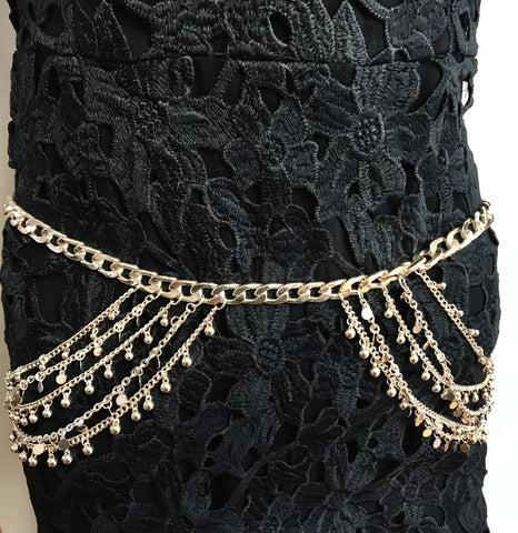Chain Belt - Gold - Willow Rose Boutique