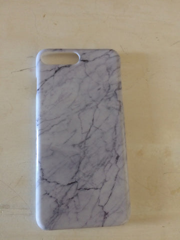 Marble Case White iPhone 7 Plus