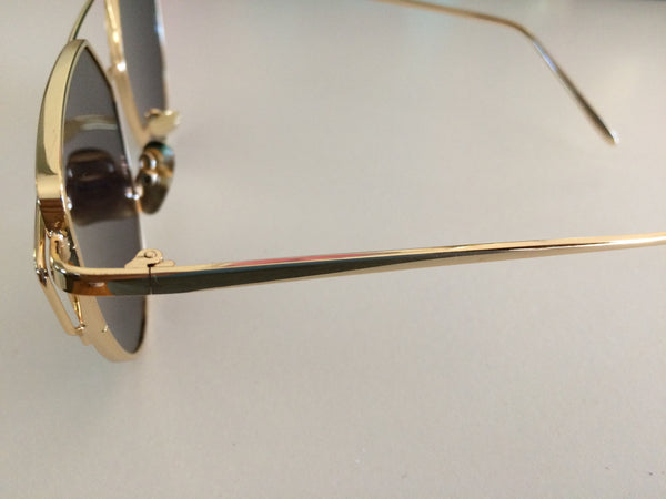 Rose Boutique Sunglasses - Gold/Pink - Willow Rose Boutique