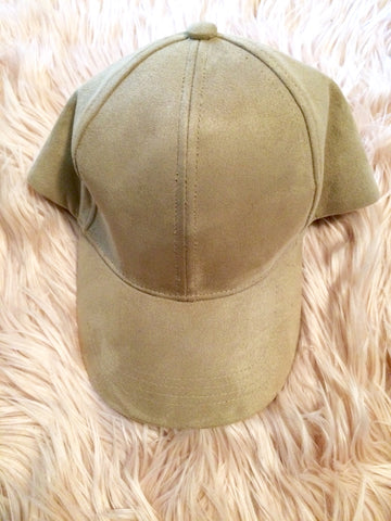 Beige Cap - Willow Rose Boutique