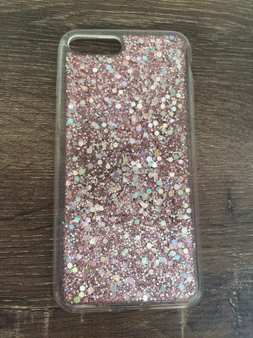 Glitter iPhone 7 Plus Case - Pink