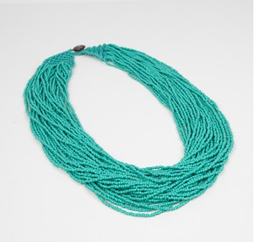 Yesterday's Plan Necklace - Teal