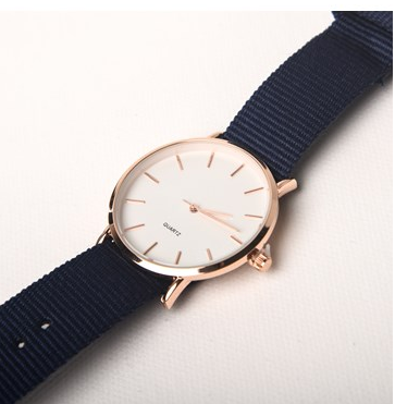 Watch - Navy Blue