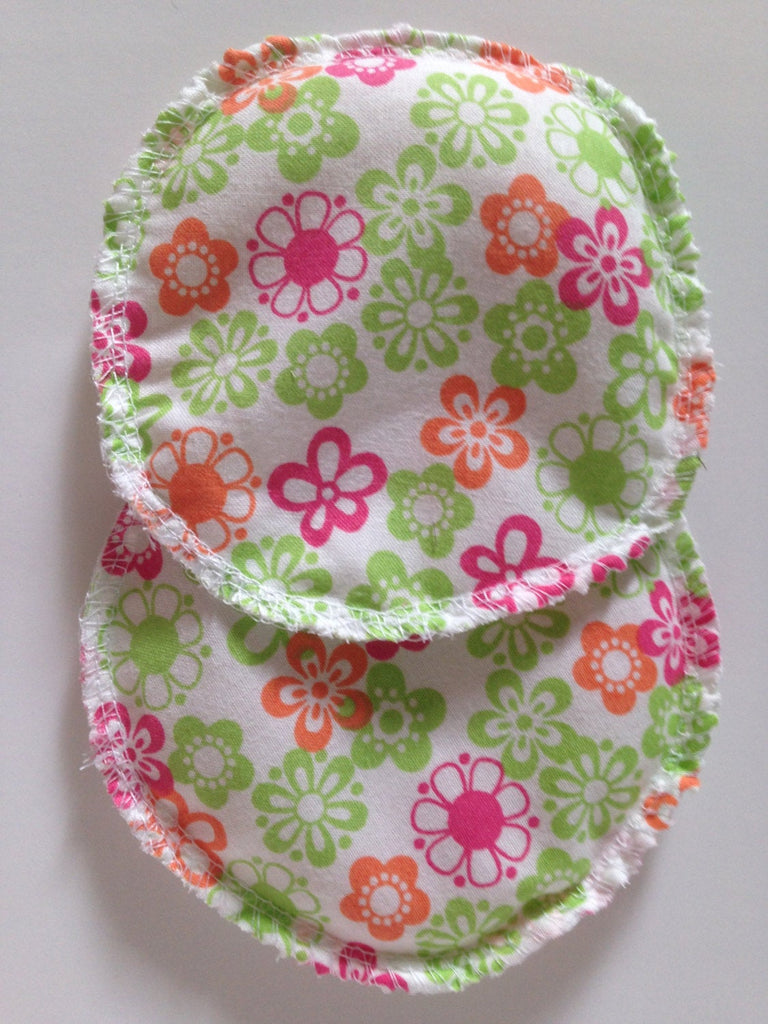 Rice Hot/Cold Packs- Green/Pink Flowers - Cute and Funky
