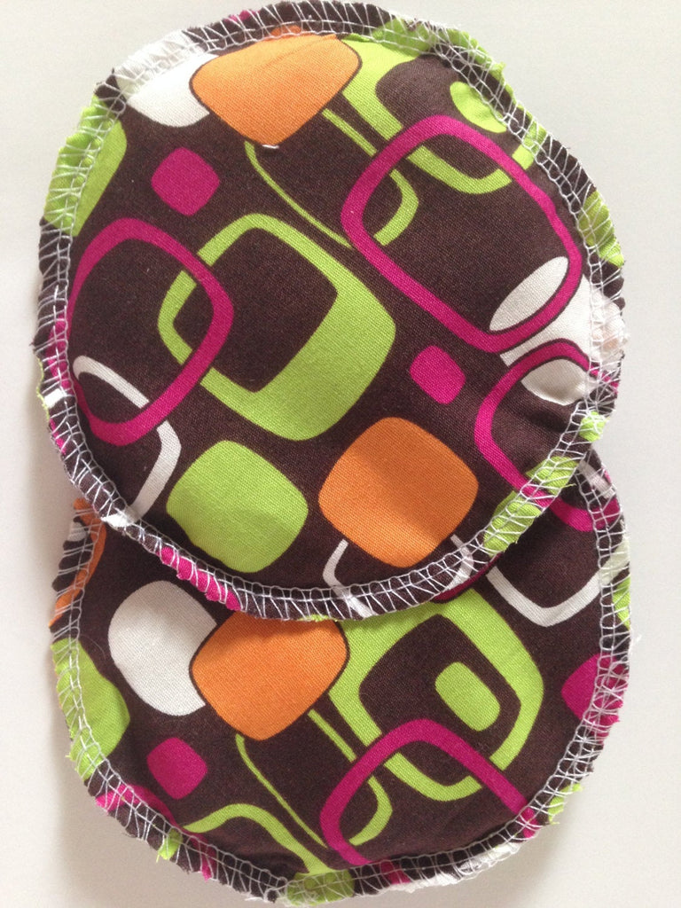 Rice Hot/Cold Packs- Brown Geometric - Cute and Funky