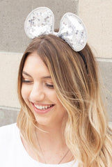 Adjustable Sequin Bow or Mouse Ear Headbands