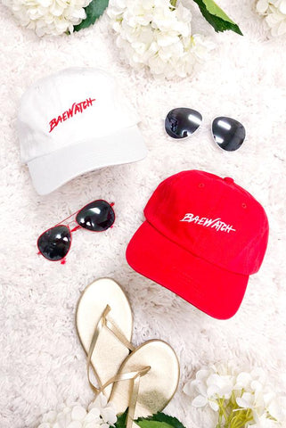 Baewatch - ☀️ Beachin' Bachelorette Party Dad Hats
