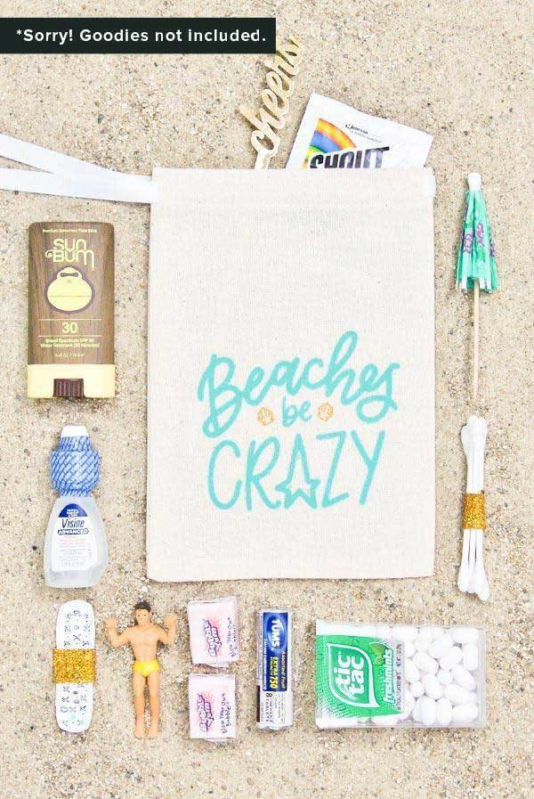 Beaches Be Crazy Hangover Relief Bags