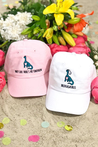 A-Roar-Able Brideasaurus Dad Hats