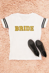 Sporty Bachelorette Party Tees - Bride | Bride Squad