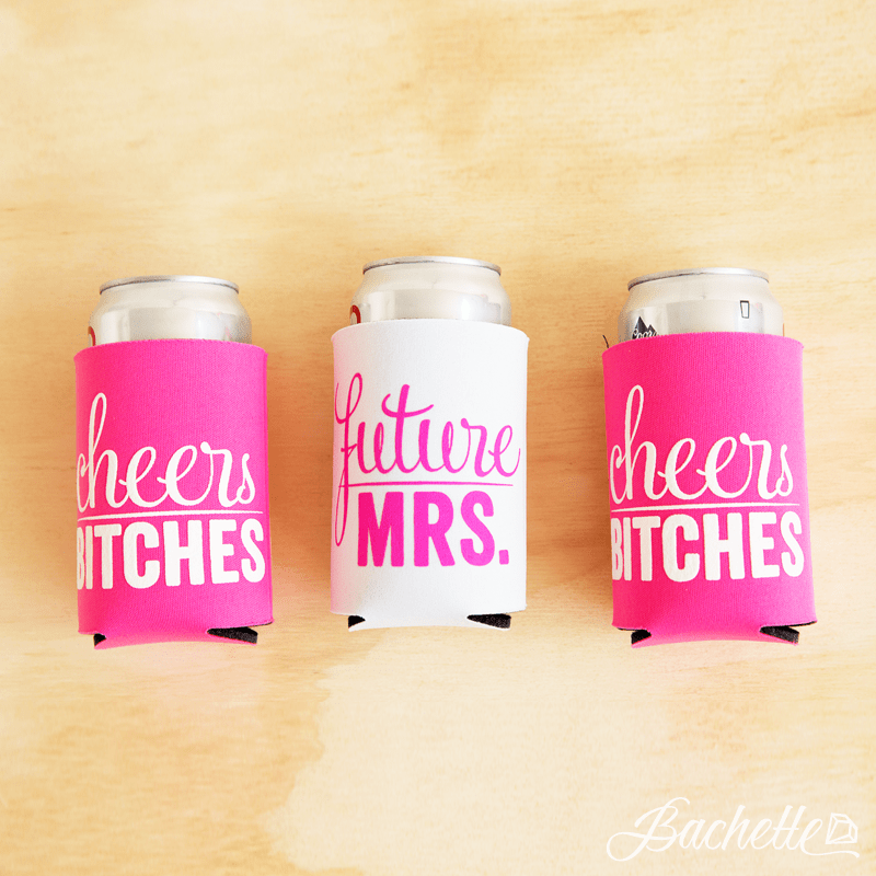 Bachelorette Party Koozies - Future Mrs. | Cheers Bitches