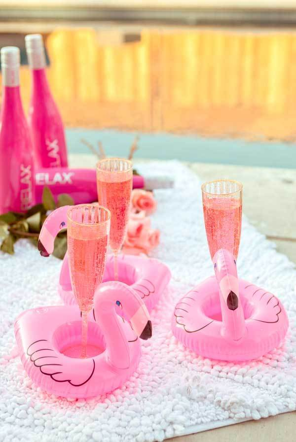 fun bachelorette party accessories - perfect for a flamingo themed party