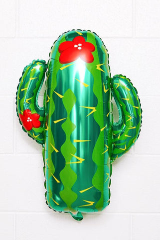 Large Cactus Party Balloon