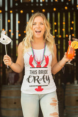 New Orleans NOLA Bachelorette Party Shirts - Let's Get Cray | This Bride Cray