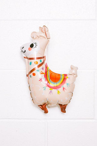 Mini Llama Party Balloon