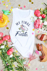 My Final Fiesta | Let's Get Smashed - Mexico Theme Muscle Tanks