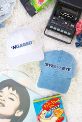 PRESALE! - *NGAGED 90's Hats - Lots of Phrases for Your Ultimate Boy Band Bachelorette Party!