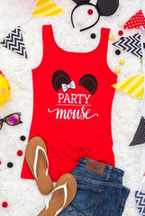 Party Mouse Bachelorette party shirts with mouse ears!
