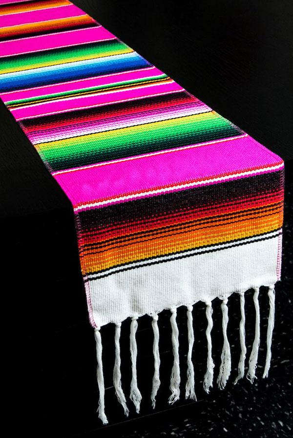 Fiesta Sarape Table Runner
