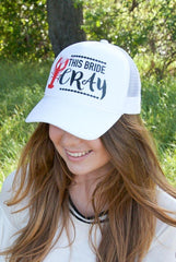 New Orleans Bachelorette party hats | Let's Get Cray & This Bride Cray