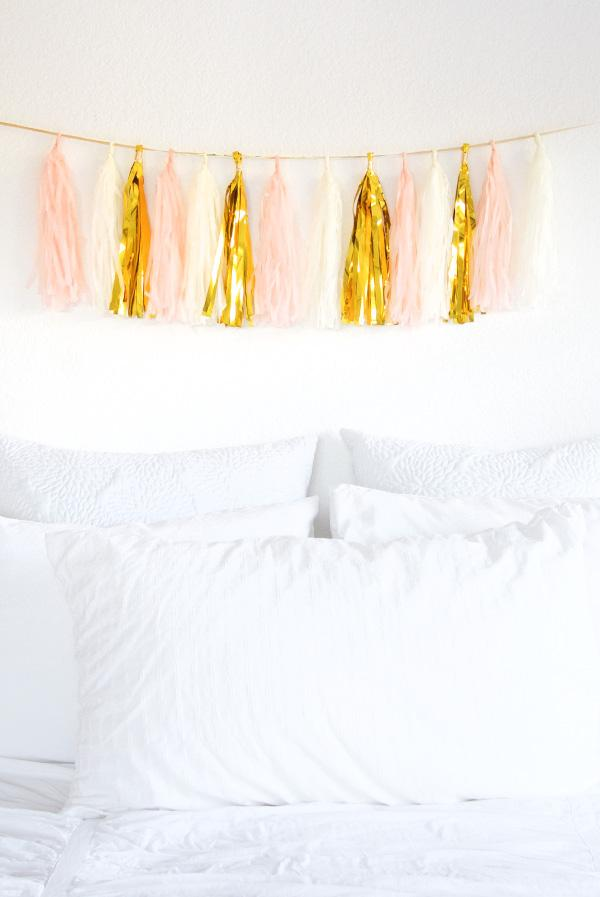 DIY Tissue Garland