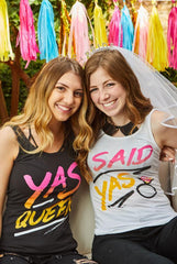 Fierce Bachelorette Party Shirts - Yas Queen | I Said Yas