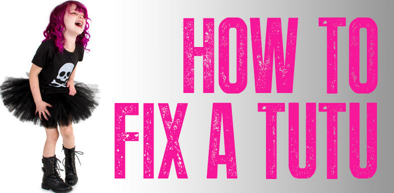How To Fix A Wrinkled Tutu