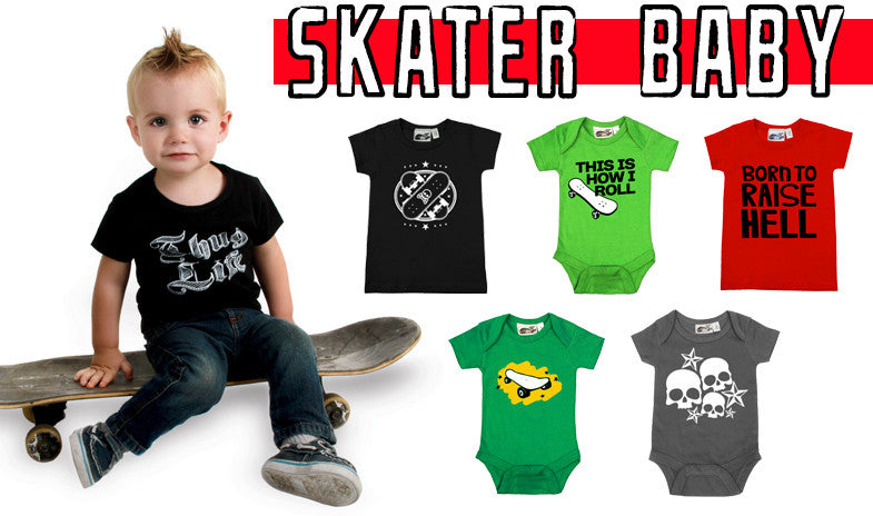 8 Bad Ass Outfits For Your Skater Baby
