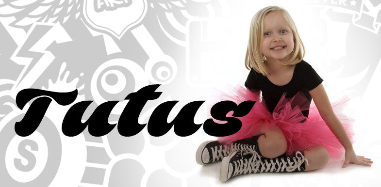 Unique Tutus For Your Little Punk Rock Princess