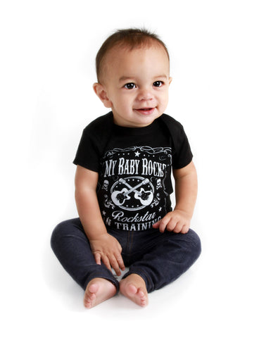 Baby  sc 1 th 256 & My Baby Rocks: Punk Baby Clothes and Cool Baby Shower Gifts