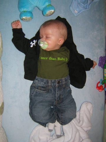 Funny offensive baby clothing
