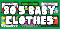 80's baby clothes