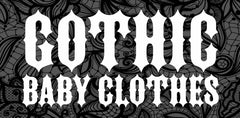 Goth baby clothes