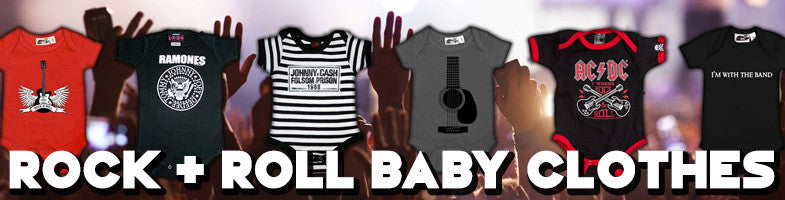 56273643 My Baby Rocks: Punk Baby Clothes and Cool Baby Shower Gifts