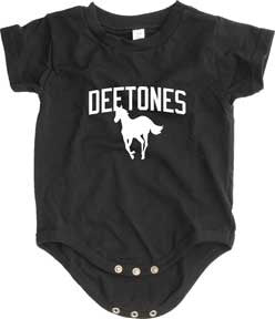 Deftones Pony Black One Piece