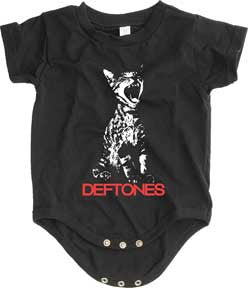 Deftones Cat Black One Piece