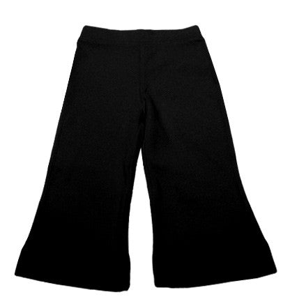 Black Baby & Toddler Yoga Pants