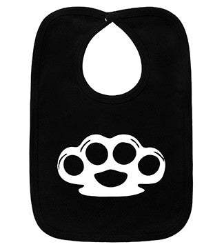 Brass Knuckles Black Bib