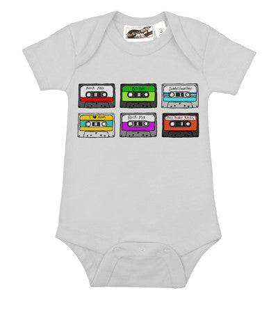 Cassettes White One Piece