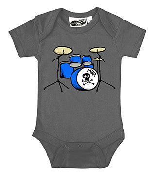 Drummer Charcoal Gray One Piece