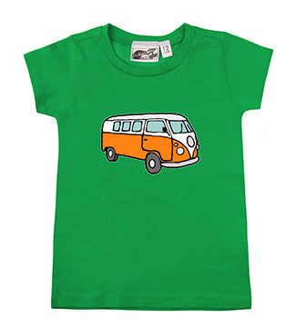 Hippie Van Kelly Green T-shirt