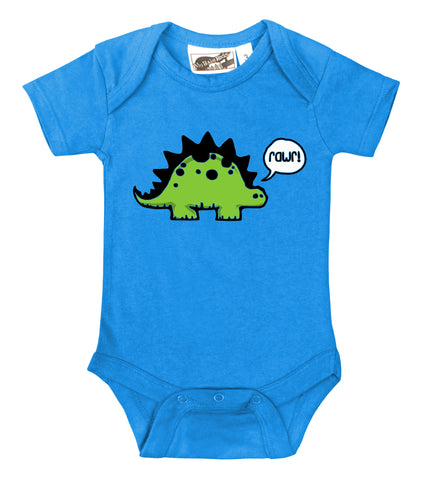 Rawr Dinosaur Turquoise One Piece