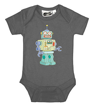 MBR 5000 Robot Charcoal Gray One Piece