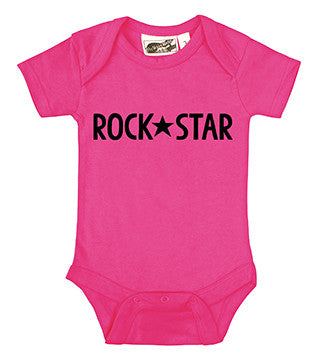 Rock Star Hot Pink One Piece