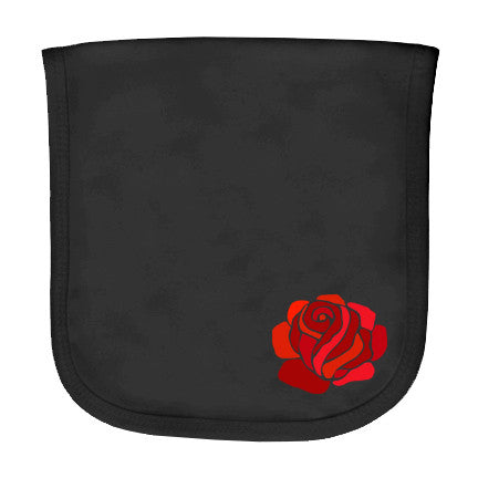Rose Burp Cloth