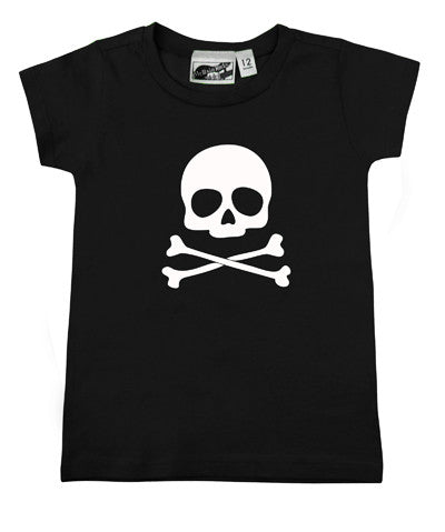 Skull & Crossbones Black & White T-shirt